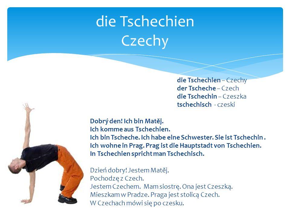 die Tschechien Czechy