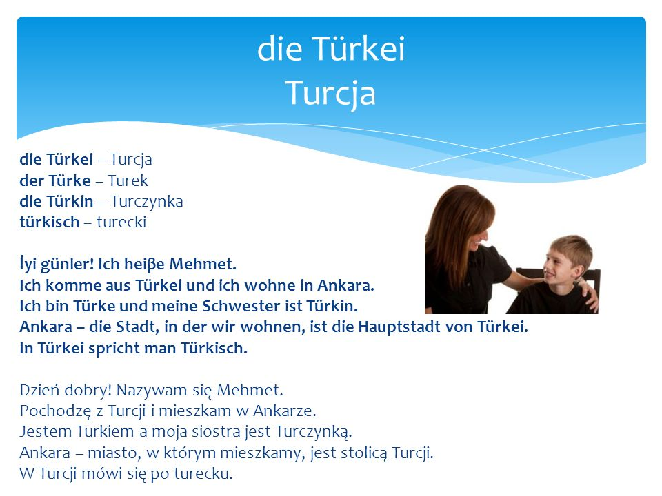 die Türkei Turcja
