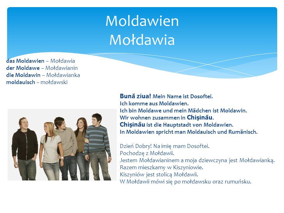 Moldawien Mołdawia