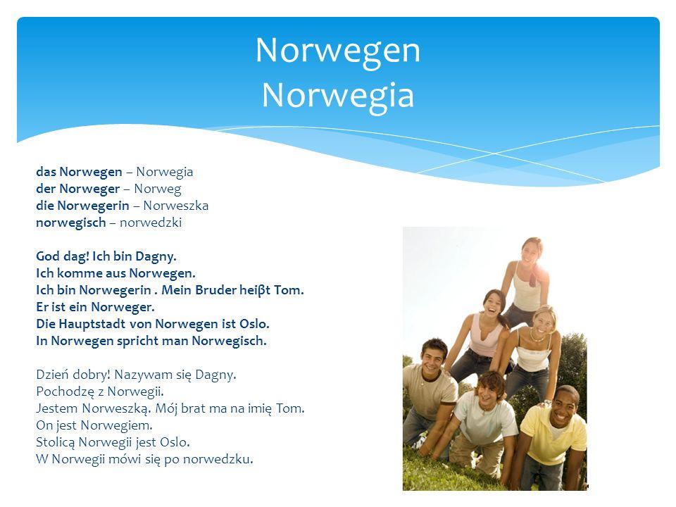 Norwegen Norwegia