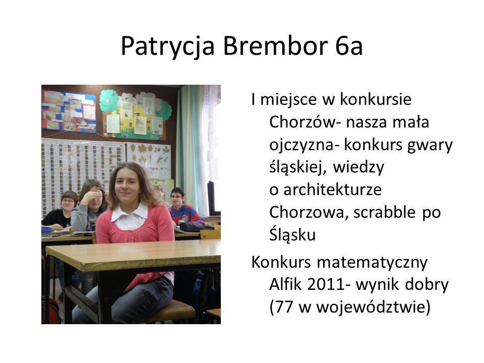 Patrycja Brembor 6a