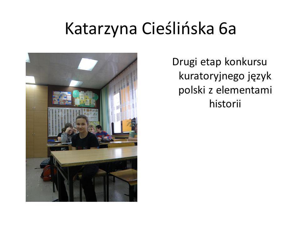 Katarzyna Cieślińska 6a