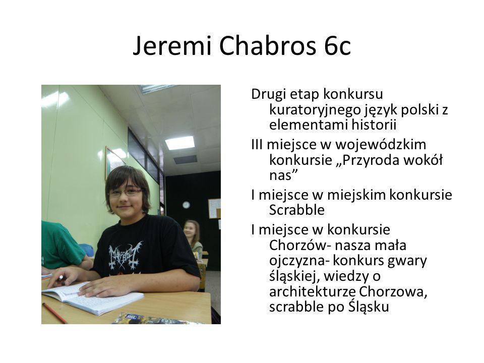 Jeremi Chabros 6c