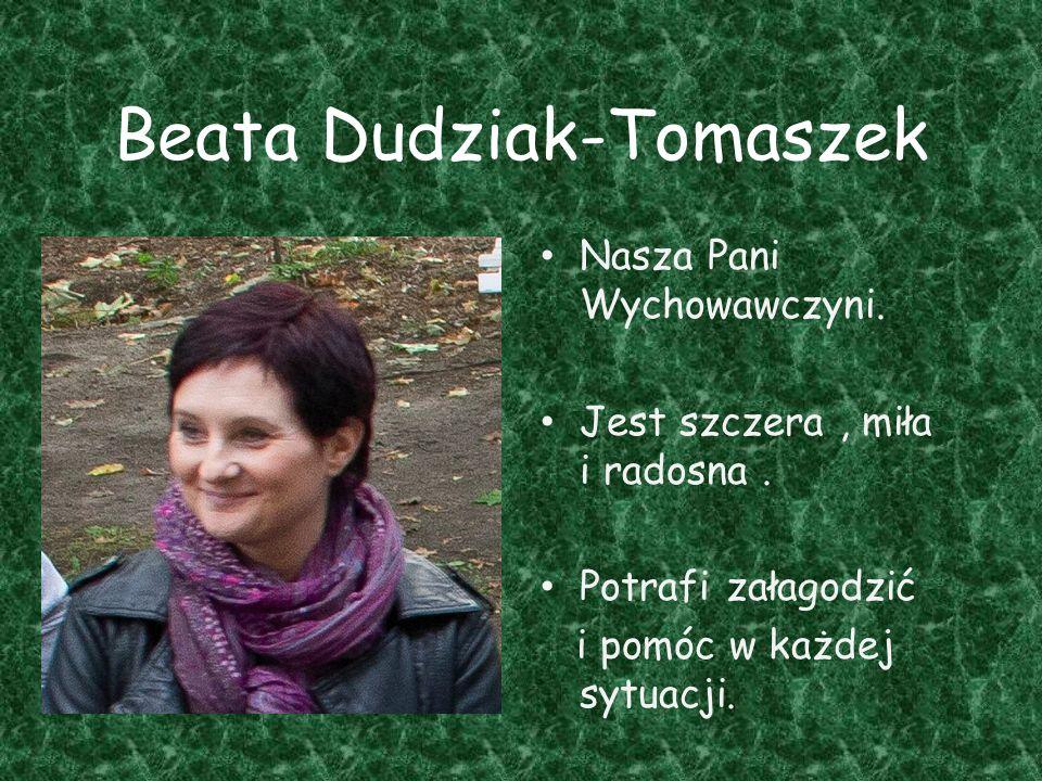 Beata Dudziak-Tomaszek