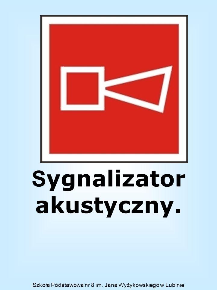 Sygnalizator akustyczny.