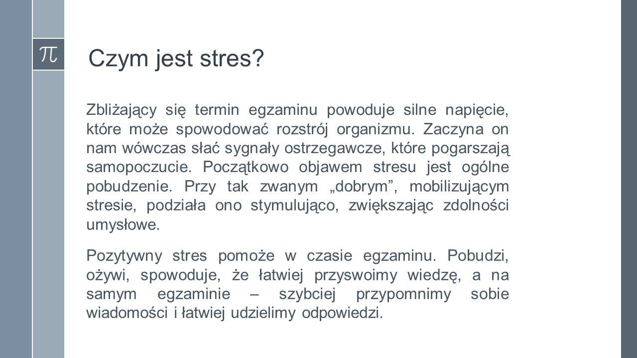 Czym jest stres