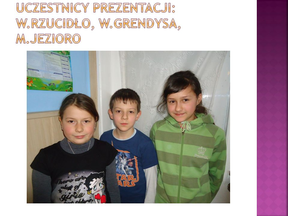 Uczestnicy prezentacji: W.Rzucidło, W.Grendysa, M.Jezioro