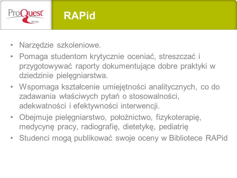 RAPid Narzędzie szkoleniowe.
