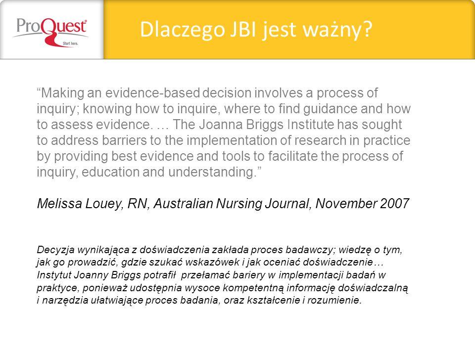 Dlaczego JBI jest ważny