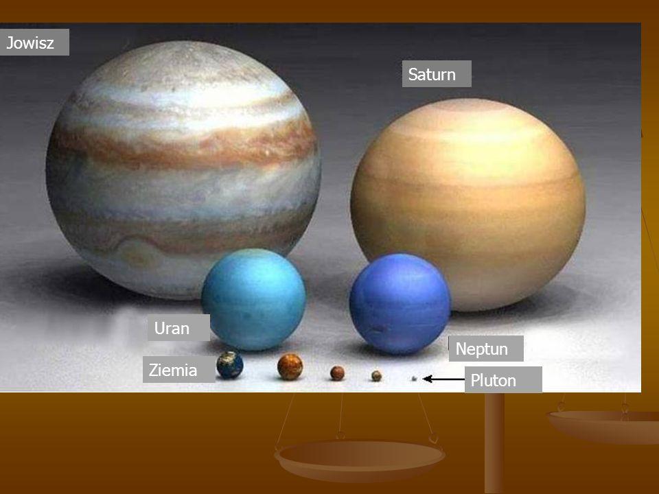ept Jowisz Saturn Uran Neptun Ziemia Pluton