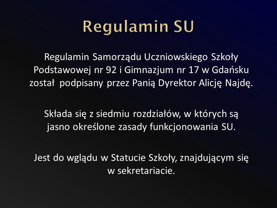 Regulamin SU