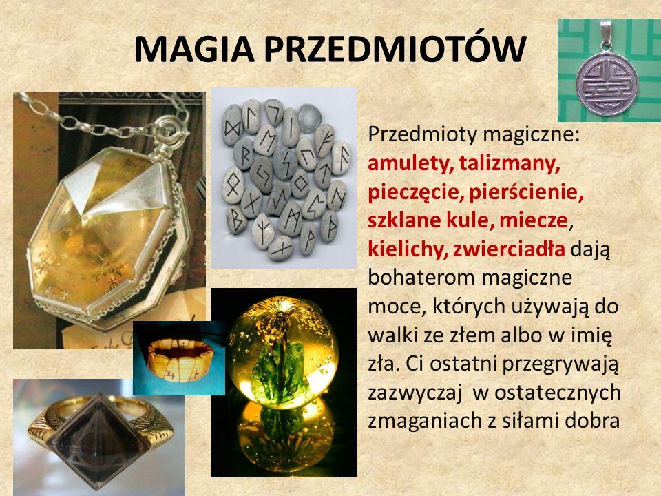 MAGIA PRZEDMIOTÓW