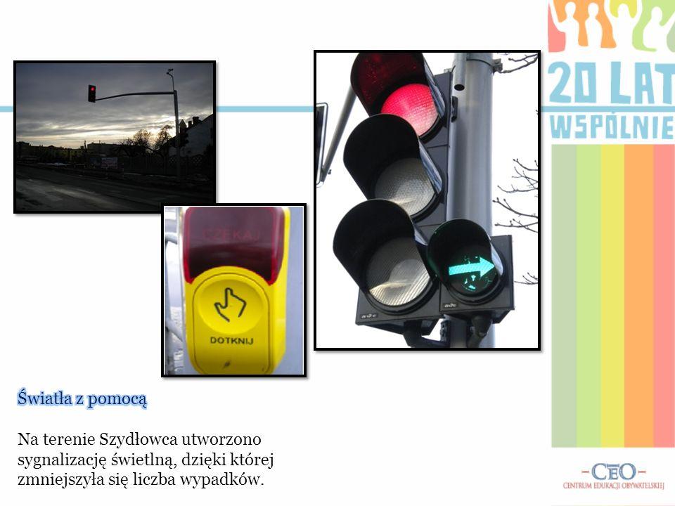 Światła z pomocą Na terenie Szydłowca utworzono sygnalizację świetlną, dzięki której zmniejszyła się liczba wypadków.