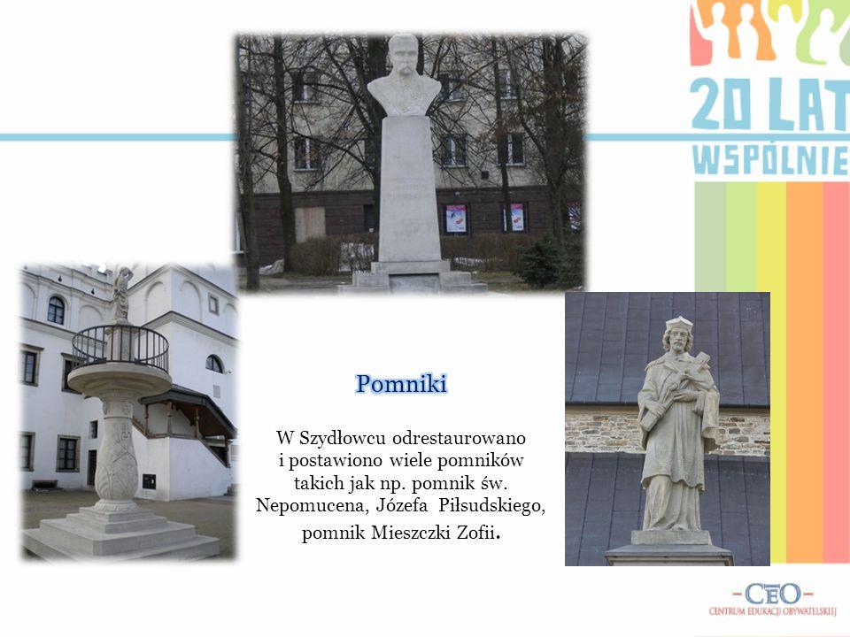 Pomniki W Szydłowcu odrestaurowano i postawiono wiele pomników takich jak np.