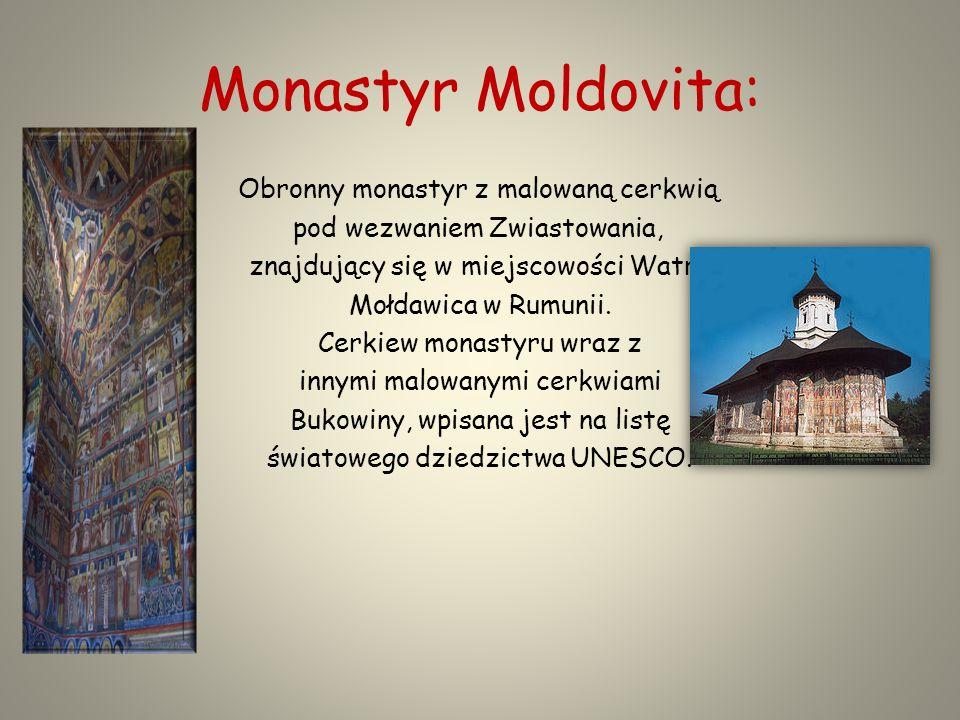 Monastyr Moldovita: