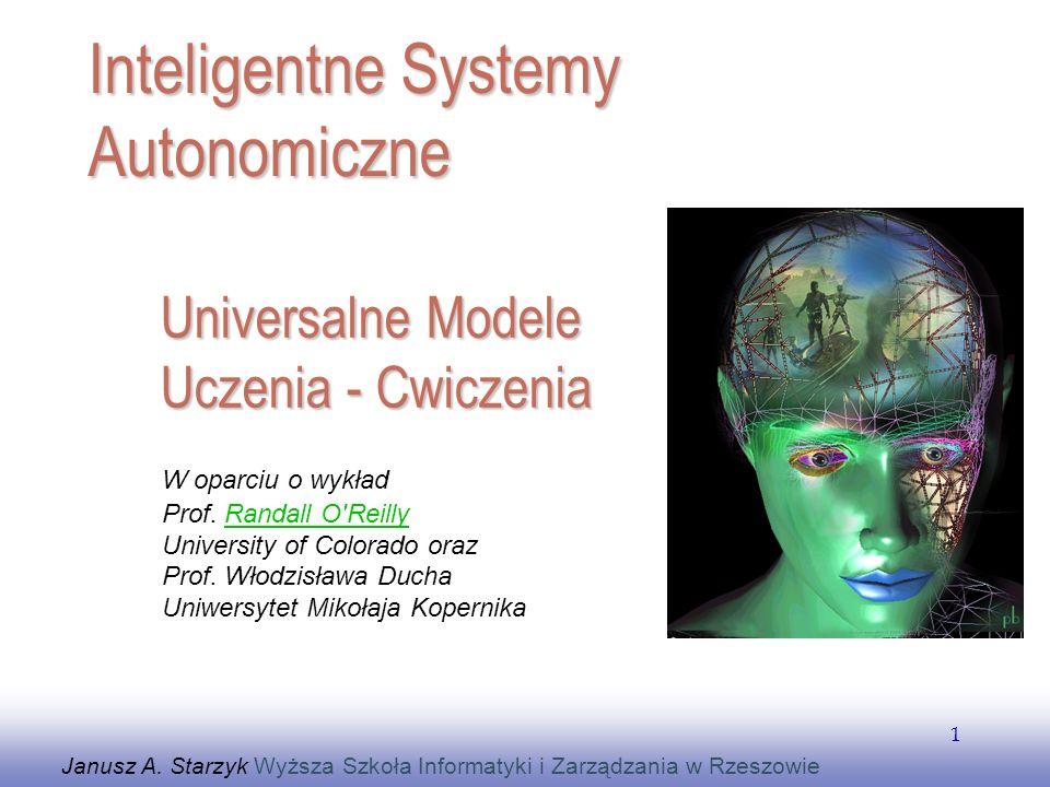 Universalne Modele Uczenia - Cwiczenia