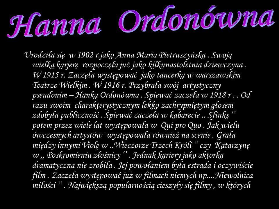 Hanna Ordonówna