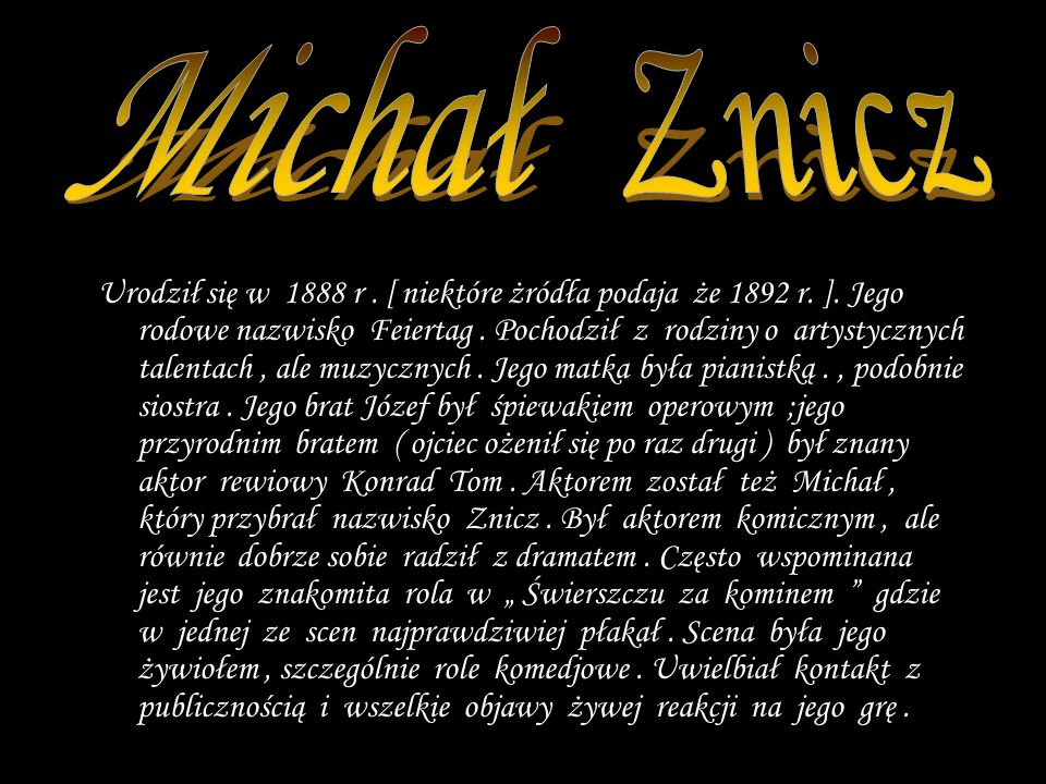 Michał Znicz