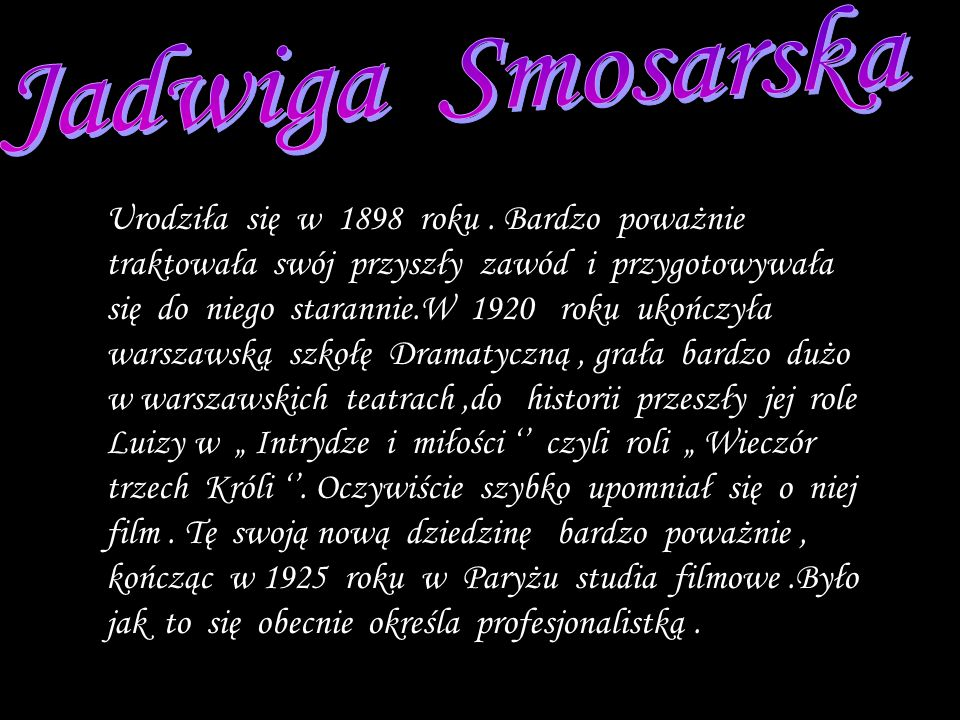 Jadwiga Smosarska