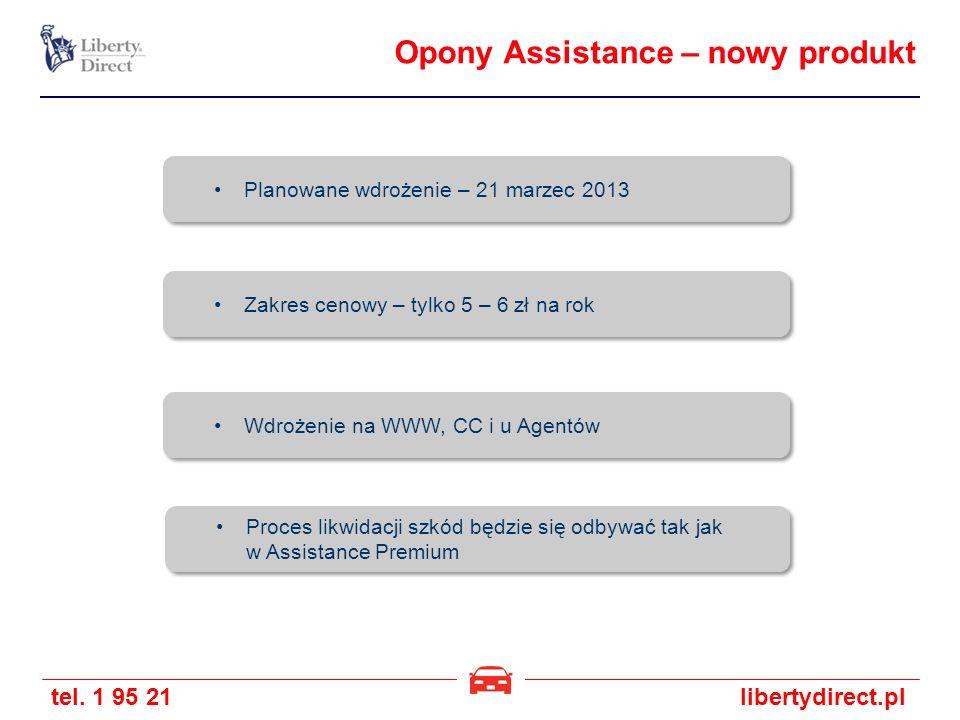 Opony Assistance – nowy produkt