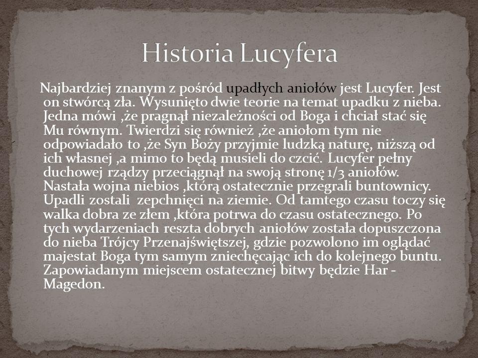 Historia Lucyfera