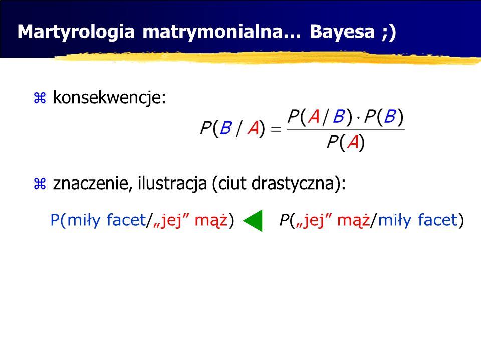 Martyrologia matrymonialna… Bayesa ;)