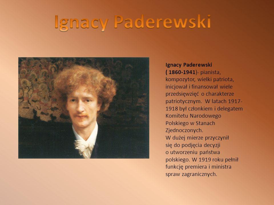 Ignacy Paderewski Ignacy Paderewski
