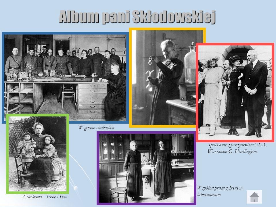 Album pani Skłodowskiej