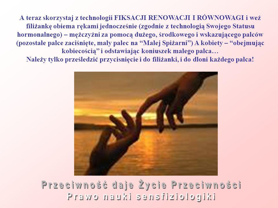 Przeciwność daje Życie Przeciwności Prawo nauki sensfiziologiki
