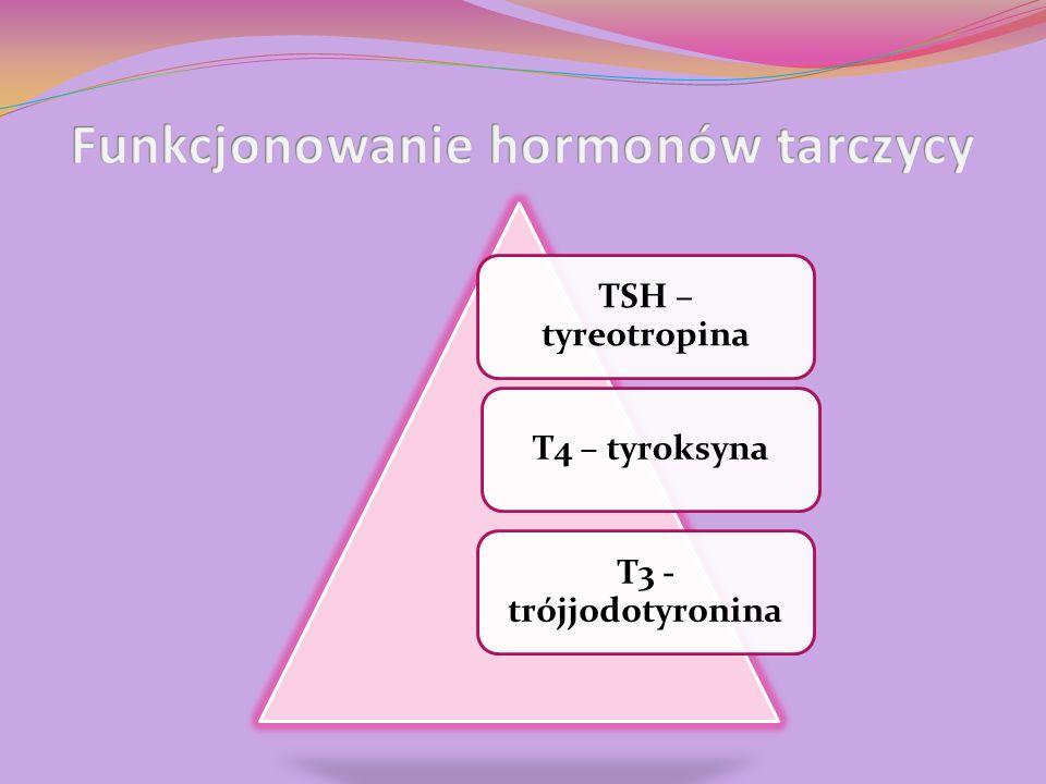 Funkcjonowanie hormonów tarczycy