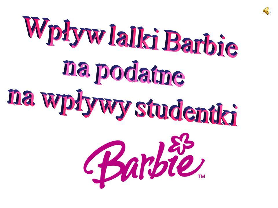 Wpływ lalki Barbie na podatne na wpływy studentki