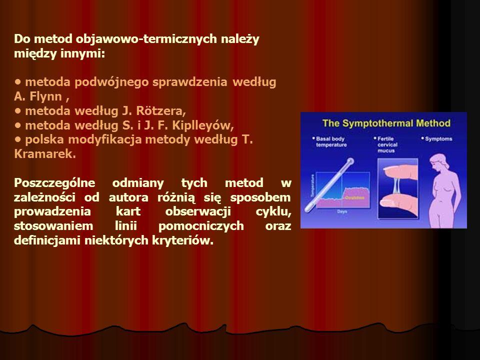 Do metod objawowo-termicznych należy między innymi: