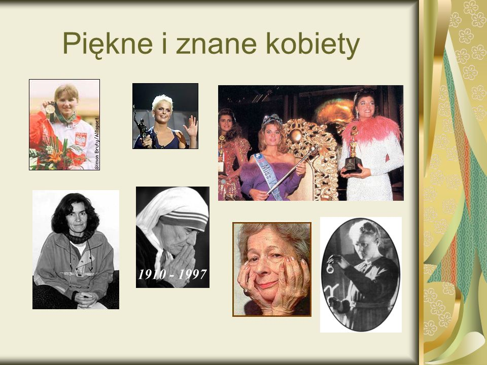Piękne i znane kobiety