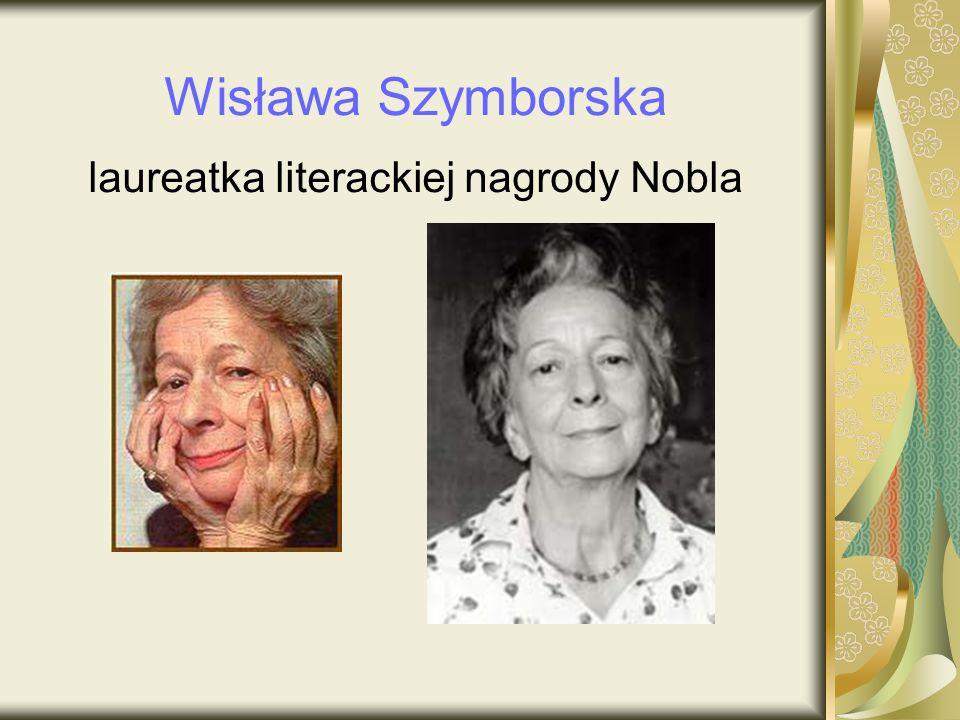 laureatka literackiej nagrody Nobla