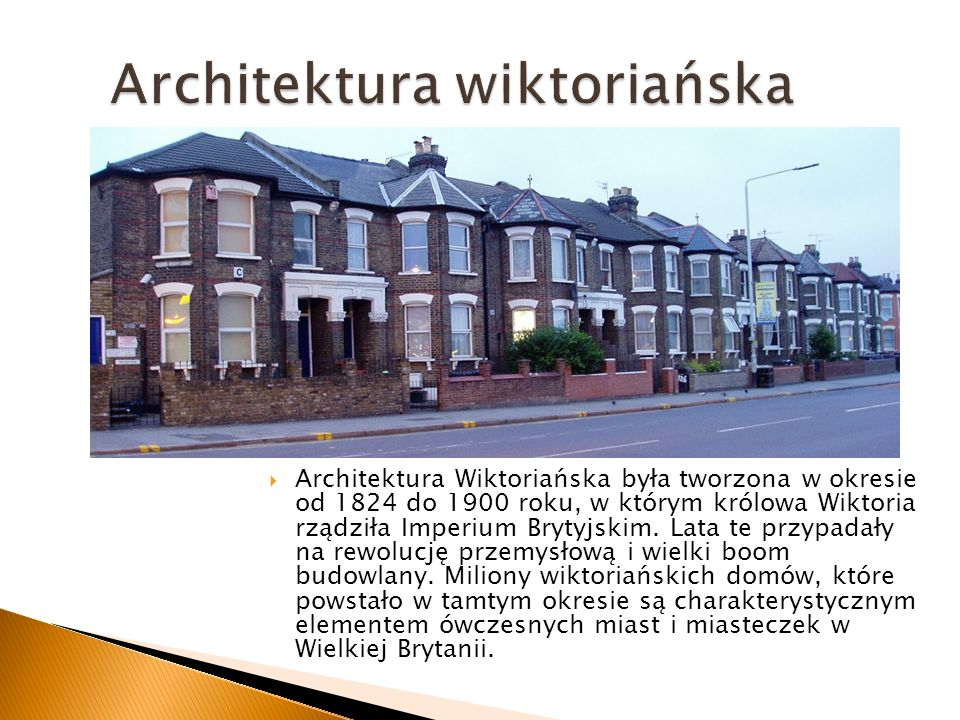 Architektura wiktoriańska