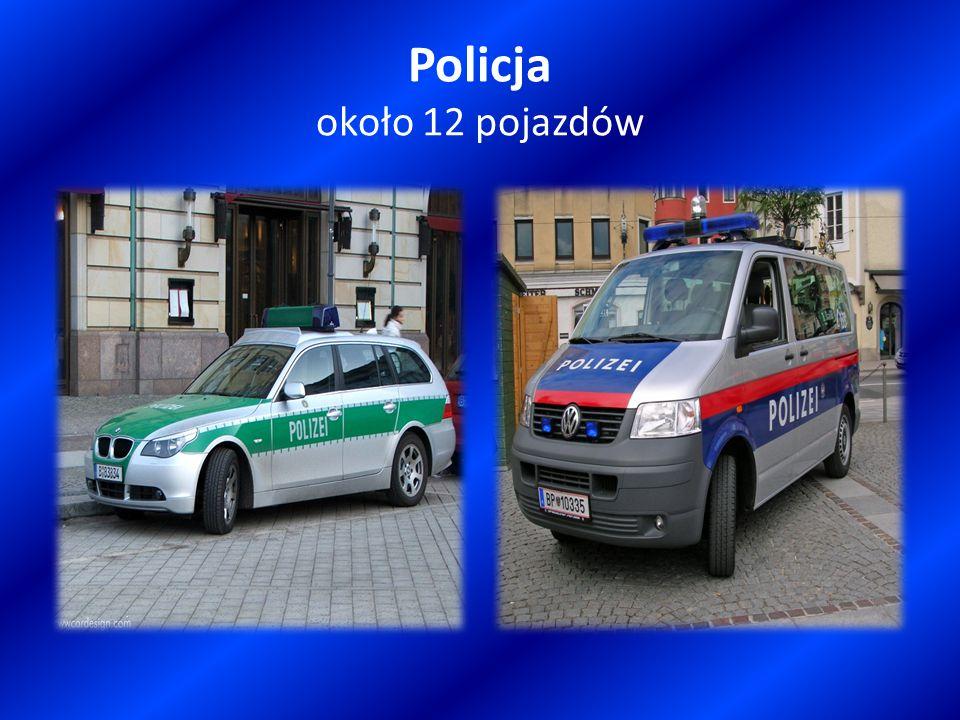 Policja około 12 pojazdów