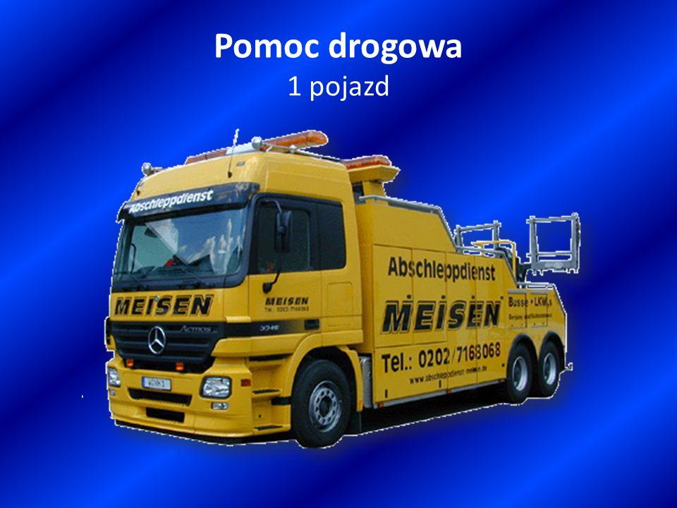 Pomoc drogowa 1 pojazd