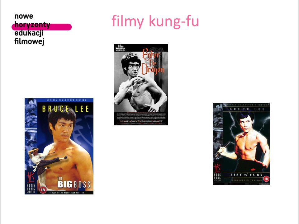 filmy kung-fu 1. Sport jako pasja, ale i element emancypacyjny, szczególnie dla ludzi z ubogich środowisk lub/i emigrantów.