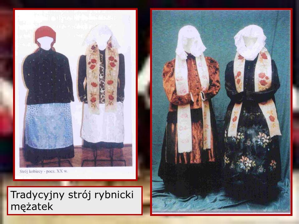 Tradycyjny strój rybnicki mężatek