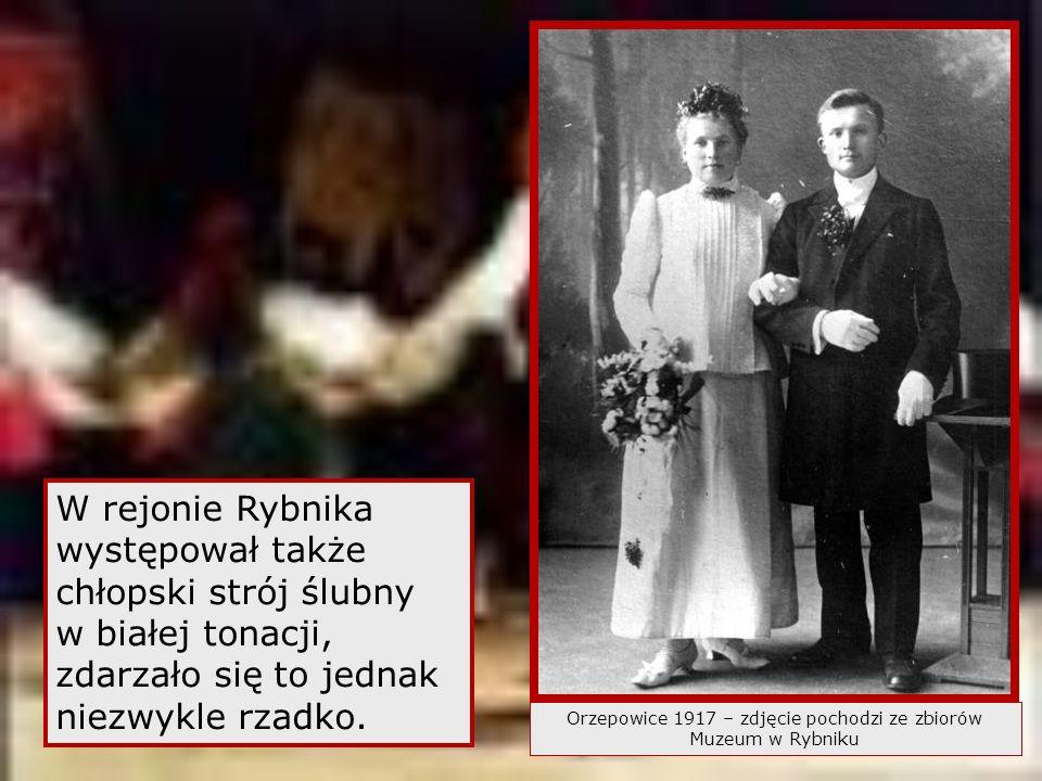 Orzepowice 1917 – zdjęcie pochodzi ze zbiorów Muzeum w Rybniku