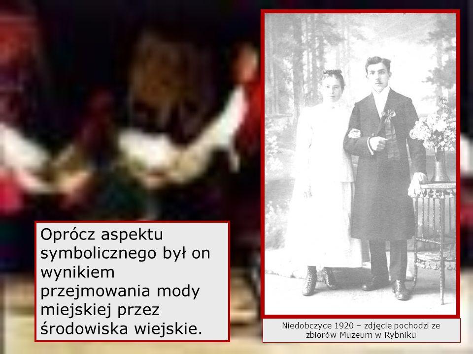 Niedobczyce 1920 – zdjęcie pochodzi ze zbiorów Muzeum w Rybniku