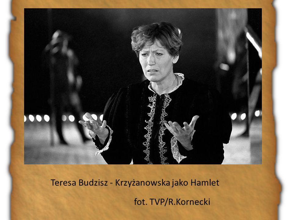 Teresa Budzisz - Krzyżanowska jako Hamlet fot. TVP/R.Kornecki
