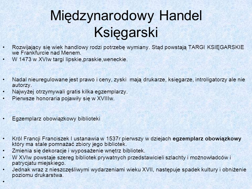 Międzynarodowy Handel Księgarski