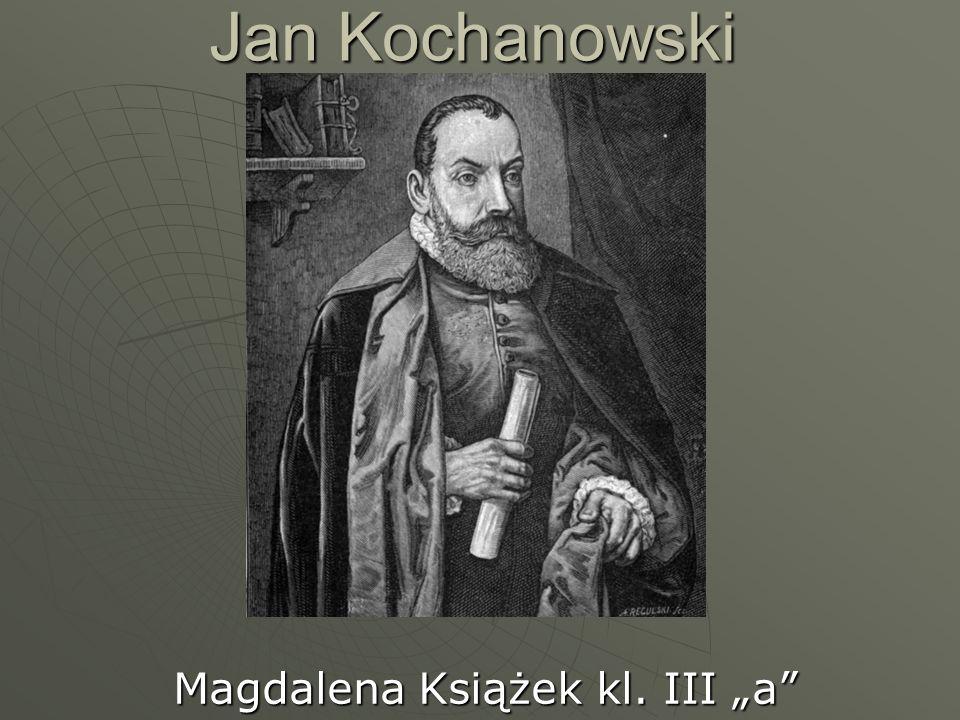 "Magdalena Książek kl. III ""a"