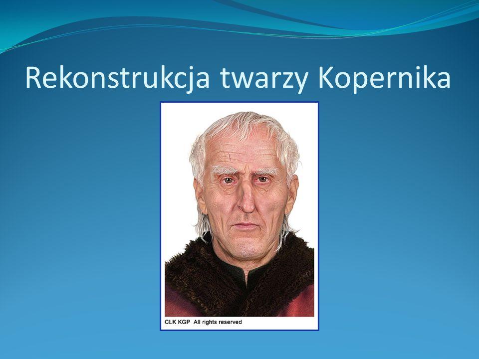 Rekonstrukcja twarzy Kopernika