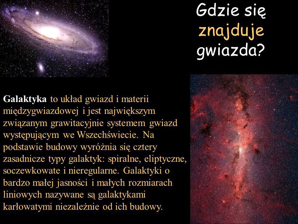 Gdzie się znajduje gwiazda