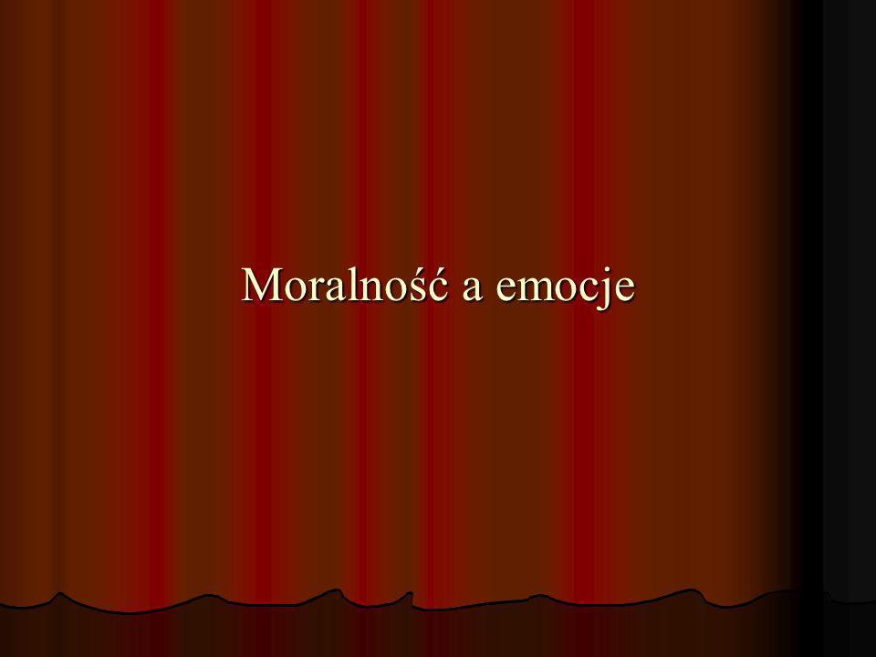 Moralność a emocje