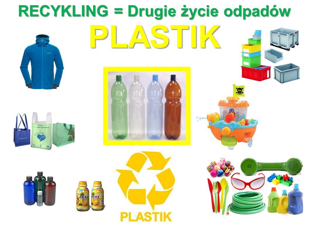 RECYKLING = Drugie życie odpadów PLASTIK