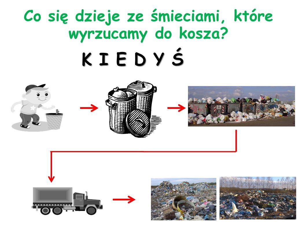 Co się dzieje ze śmieciami, które wyrzucamy do kosza