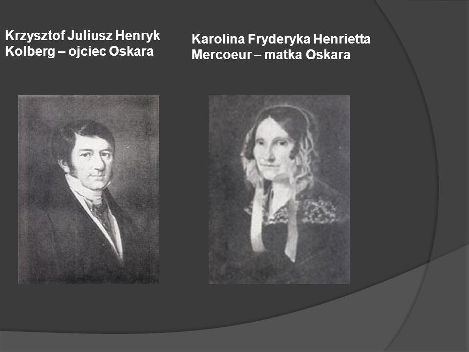 Krzysztof Juliusz Henryk Kolberg – ojciec Oskara